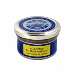 verrine rillettes maquereaux zestes citron 90 g