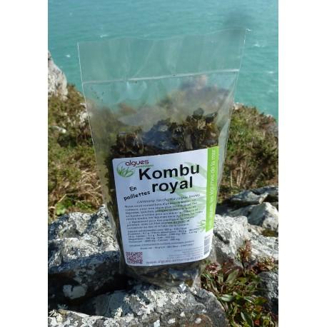 Kombu royal en paillettes sachet 50 g.