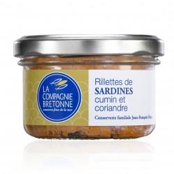 verrine rillettes de sardines 2 épices 90 g