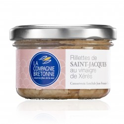 verrine rillettes de St Jacques 90 g