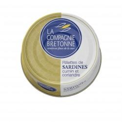 Rillettes de sardines aux deux épices 78 g