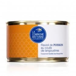 Raviolis de poissons au coulis de langoustines - 400 grammes