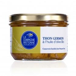 Thon blanc Germon à l'huile d'olive bocal 245 ml