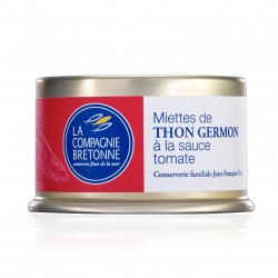 Miettes de thon blanc germon à la tomate