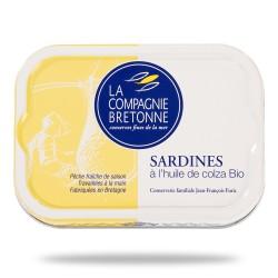 Sardines à l'huile de colza 115 grammes