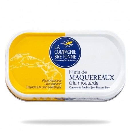 Filets maquereaux moutarde 113 grs