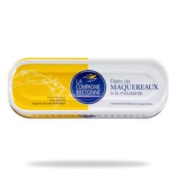 Filets maquereaux moutarde 169 grs