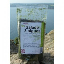 Salade 3 algues en petite coupe - Sachet 50 g