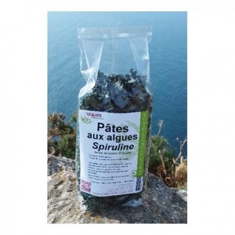 Pâtes aux algues spiruline 250 g
